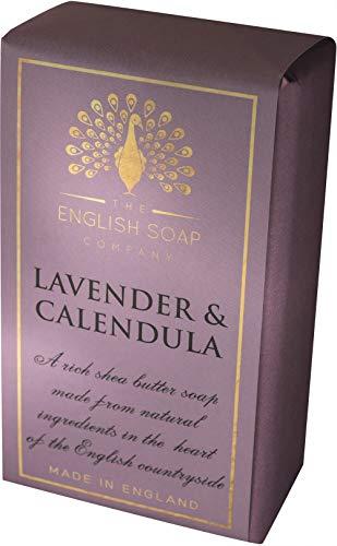 The English Soap Company, Pure Indulgence Lavedner & Calendula, Shea Butter Soap, 200g