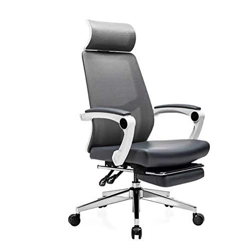 Syxfckc Büro Mittagspause Stühle, 155 ° Neigung, Drehstuhl Computer zu Hause, ergonomische Stühle, Spiele Stuhl Spiel, stark und stabil
