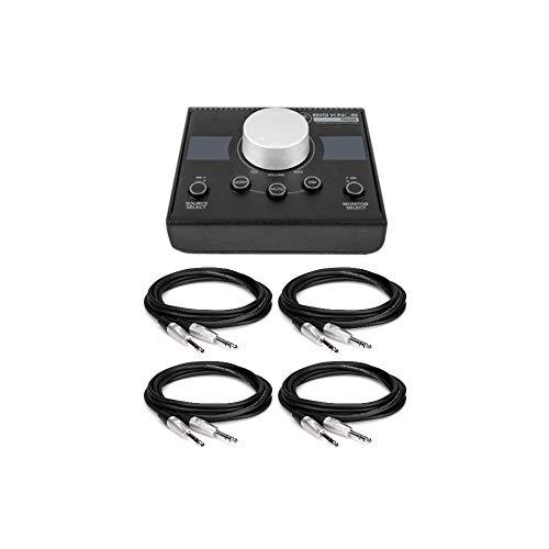 Mackie Big Knob Passive 2x2 Studio Monitor Controller Bundle with