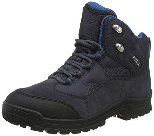 Aigle Beaucens, Chaussures de Randonnée Hautes Homme - Gris (Darkgrey/Goa 001)...