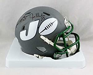 Joe Klecko Autographed Signed, Mark Gastineau, Marty Lyons, Abdul Salaam Ny Sack Exchange New York Jets Amp Speed Mini Helmet - JSA W Auth