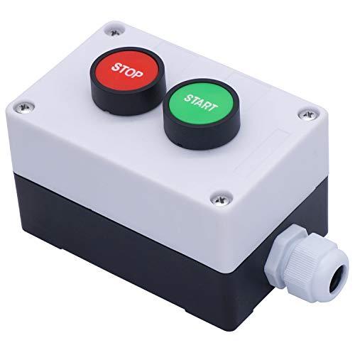 Taiss/AC 660V 10A Momentan Start/Stopp Rot Grün Zeichen N0 NC-Druckschalter Station HB2-Start/Stopp-Box