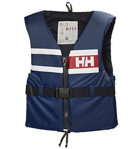 Helly Hansen Sport Comfort Chaleco de Ayuda a la Flotabilidad, Hombre, Azul Marino, XL
