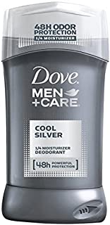 Dove Men+Care Cool Silver Deodorant,3.0 oz, Pack of 9