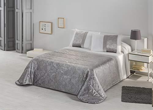 Stilia Edredón Nórdico Luxury de Jacquard para Invierno + Fundas Cojines, (Cama 135 (235x265 cm), Multicolor, 235 x 265 cm