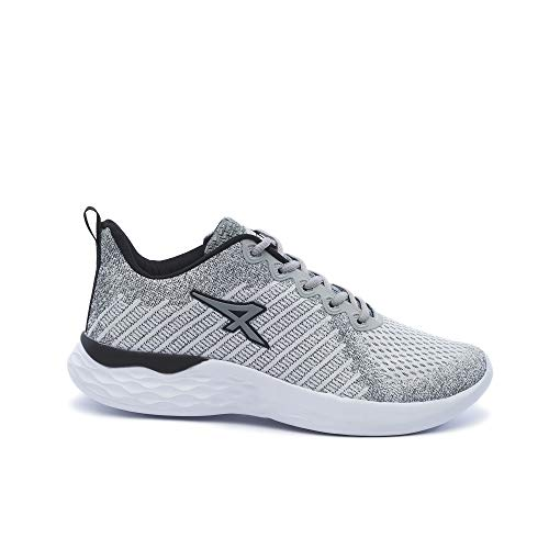 ATHIX Compaction Flexy - Zapatillas de correr para hombre, blanco (Blanco/Negro), 41 EU