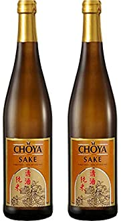 2x 750ml  CHOYA SAKE aus japanischem Reis und Koji alc 15% vol