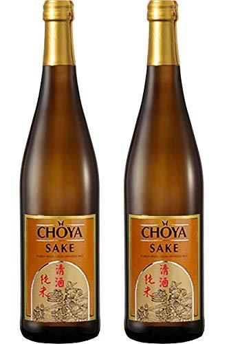 [ 2x 750ml ] CHOYA SAKE aus japanischem Reis und Koji alc 15% vol