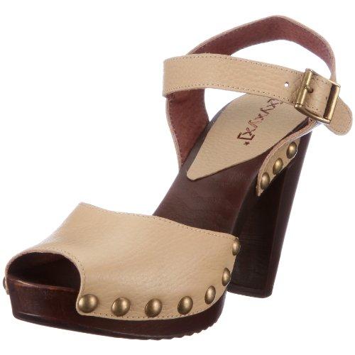 xyxyx Sandal XY0319, Damen, Sandalen/Fashion-Sandalen, Beige (Arena 116), EU 38