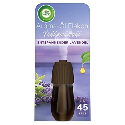 Air Wick Aroma-Öl Flakon – Duftöl Nachfüller für den Air Wick Diffuser – Duft: Entspannender Lavendel – 1 x 20 ml ätherisches Öl