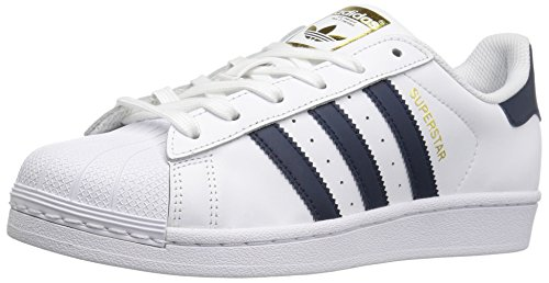 adidas Originals Superstar, Scarpe da Ginnastica Unisex Adulto, Bianco (Ftwr White/Core Black/Ftwr White), 44 EU