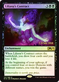Magic: The Gathering - Liliana's Contract - Foil - Prerelease Promos