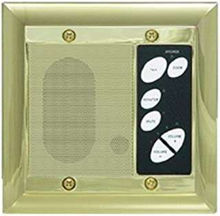 Legrand - On-Q F7641SB Intercom Patio Unit, Outdoor, Shiny Brass