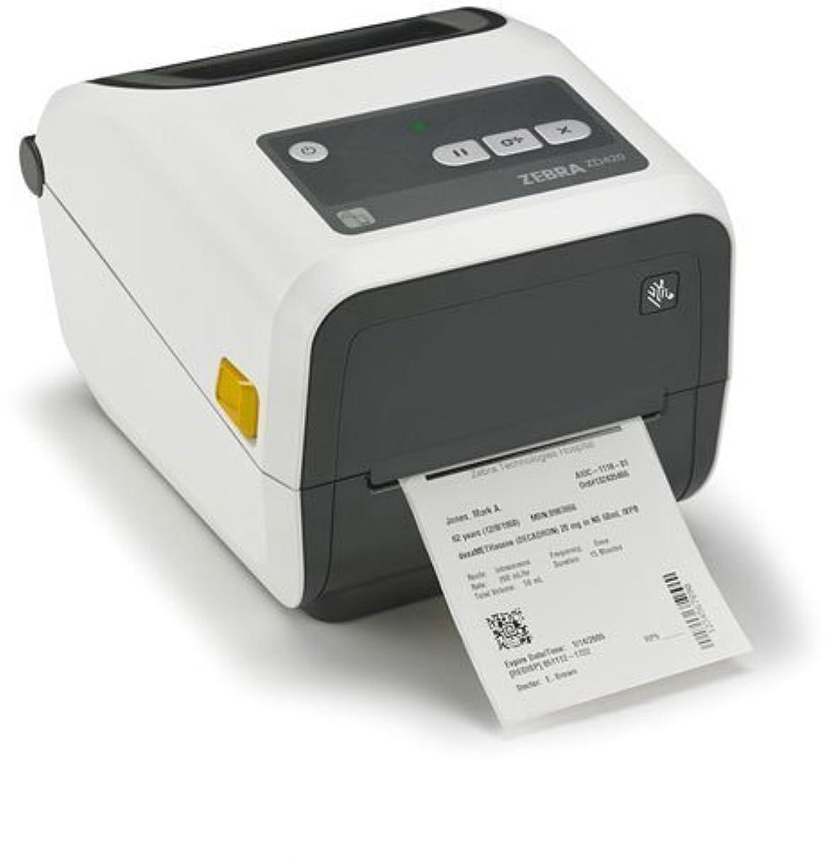 適応する偽造重さZebra Technologies ZD42H43-C01E00EZ Series ZD420 Thermal Transfer Desktop Printer Healthcare Model 300 DPI Ethernet Connectivity [並行輸入品]