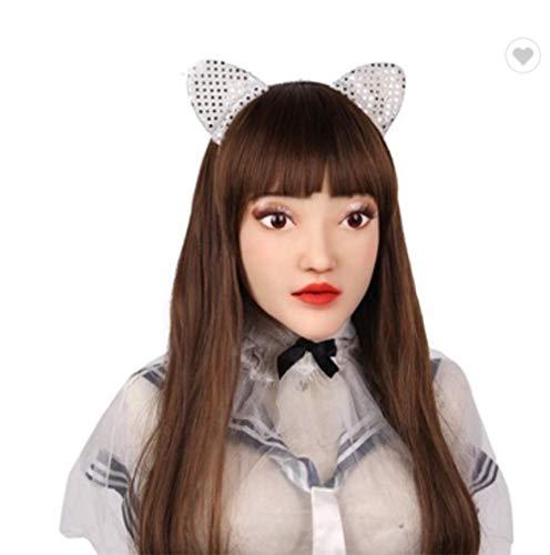 Engelsgesicht Maskerade Crossdresser Transsexuelle Drag Queen Zarte Requisiten Ladyboy Engelsgesicht Halloween Maske