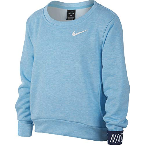 Nike Mädchen Dri-Fit Haut S Blue Chill/Heather/Blue Void/(White)