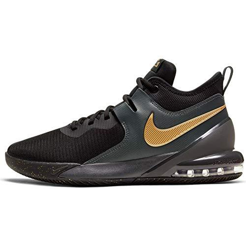 Nike Air Max Impact - Black/metallic Gold-dk Smoke Grey, Größe:13