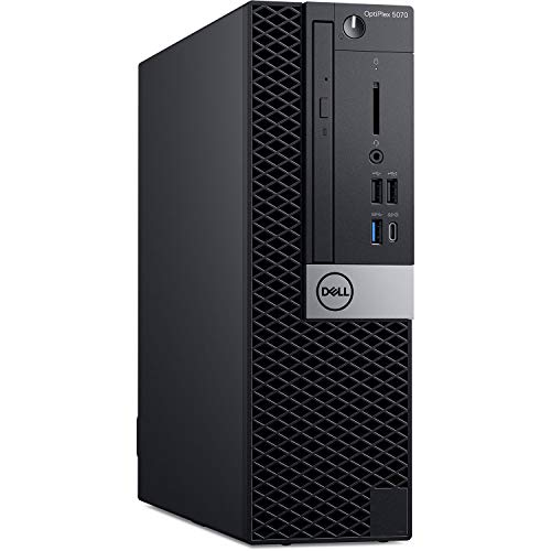 Dell OptiPlex 5070 SFF Business Desktop Computer_ Intel Octa-Core i7 9700 Up to 4.7GHz_ 64GB DDR4 RAM, 2TB PCIe SSD_ DVDRW_ USB WiFi Adapter_ Displayport_ Type-C_ Keyboard and Mouse_ Windows 10 Pro