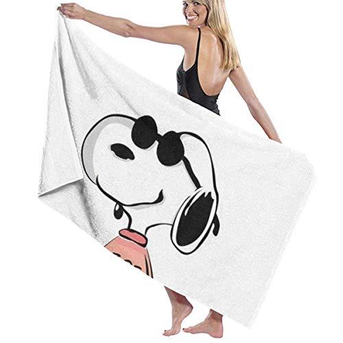 Suzanne Betty Lovely Stich - Toalla de playa para baño o piscina, 81 x 132 cm para mujeres, niños, niñas, niños, adultos, hombres, Cool Snoopy
