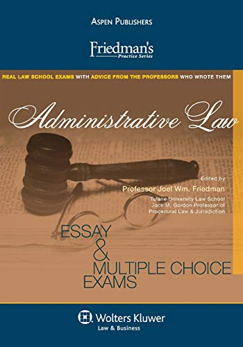 Compare Textbook Prices for Friedman's Practice Series: Administrative Law  ISBN 9780735597976 by Araiza