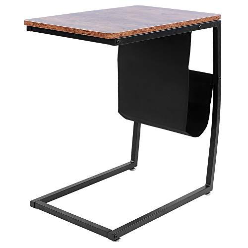 Bijzettafel, bank-eindtafels met zijvak voor koffie, laptop, woonkamer, kleine ruimte
