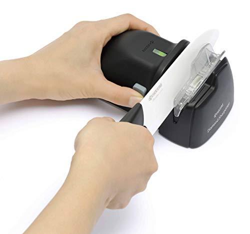 Kyocera Advanced Diamond Hone Knife Sharpener for Ceramic and Steel Knives