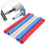ハンドルスリーブ、快適な軽量フォームハンドルカバー、調理器具用6個歯ブラシ鉛筆ペン