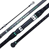 BERRYPRO Surf Spinning Rod IM8 Carbon Surf Fishing Rod (9'/10'/10'6''/11'/12'/13'3'') (10'6''-2pc)