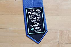 embroidered gift ideas ~ Tie Patch
