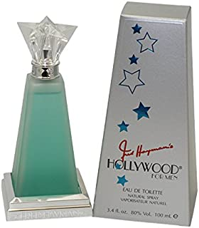 Hollywood by Fred Hayman for Men Eau De Toilette Spray, 3.4 Ounce