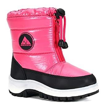 Nova Mountain Boys Girls Little Kids Winter Snow Boots,NF NFWB115 Fuchsia 9
