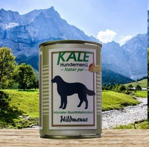 KALE Classic Nassfutter Wildmenü (6 x 400g)