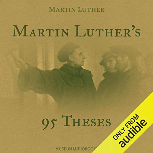 Martin Luther's 95 Theses  By  cover art