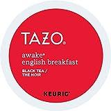 Tazo Awake English Breakfast Black Tea K-Cups, 96 Count