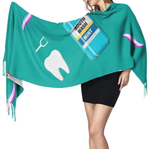 Bonita bufanda eléctrica con cepillo de dientes automático, bufandas unisex para niñas,...
