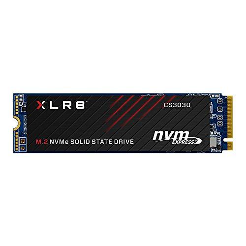 PNY XLR8 CS3030 Unidad de Estado sólido M.2 500 GB PCI Express 3D TLC NVMe - Disco Duro sólido (500 GB, M.2, 3500 MB/s)