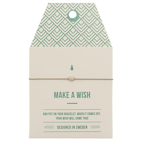 'mint pulsera 'Make a Wish, Heart