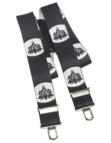 Pionier  workwear Herren Hosenträger Maurer in schwarz (Art.-Nr. 1083) schwarz,Größe 0000