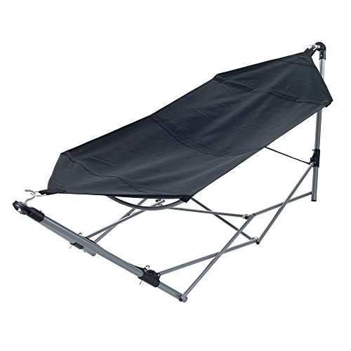 Pure Garden Portable Hammock with Stand-Folds and Fits into...