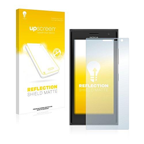 upscreen Entspiegelungs-Schutzfolie kompatibel mit Nokia Lumia 730/735 – Anti-Reflex Bildschirmschutz-Folie Matt