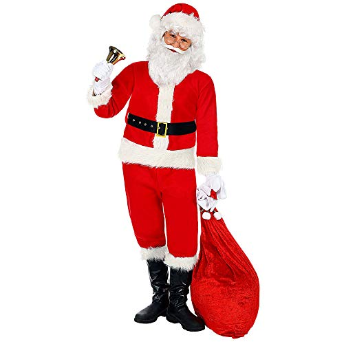 Widmann- Babbo Natale Costume per Bambini, Multicolore, 140 cm / 8-10 Years, 137