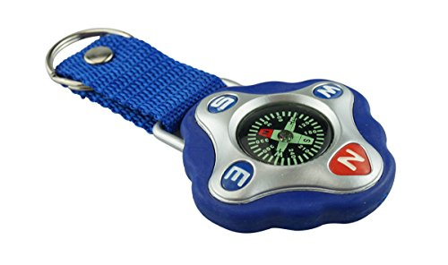 SE Adventure Outdoor Compass with Keychain and Strap - CDC25H