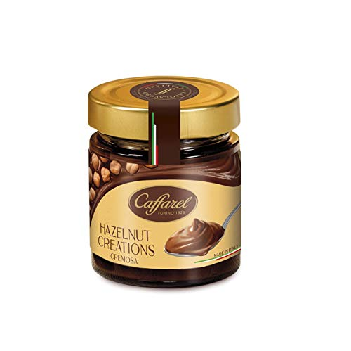 Caffarel Cremosa Cocoa Hazelnut Spread - Hazelnut Creations 200g (7.05 oz) Imported Chocolate Spread
