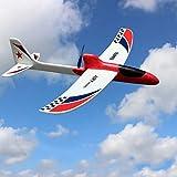 Yzki RC Juguete de avión eléctrico, espuma EPP mando a distancia con 2.4 GHz con funda de...