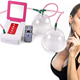 caiyuankai Enlargement Female Breast Cup, Electric Breast Pump Breastfeeding Pump, Chest Care Machine Enlarger Breast Stimulator for Lifting and Anti Sagging Massages,C-Dcup