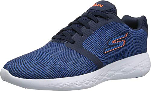 Skechers Performance Men's Go Run 600-55068 Sneaker,navy/blue,10.5 M US