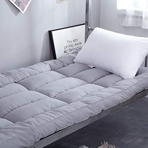 JIAOHJ 10 cm/Espesor/colchón, Estudiante/Dormitorio/Sencillo/PU, Plegable/Cama, Tatami/colchón, colchón de la Cubierta,A,90 * 200cm