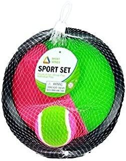Sport set Catch ball - juego de palas de velcro con pelota: Amazon ...
