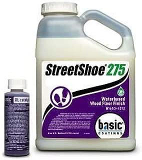 Basic Coatings STREETSHOE? Waterbased Wood Floor Finish Satin 1 Gallon by Basic Coatings