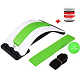 Back Stretcher + Muscle Relief Balm (2-in-1) CHISOFT Back Stretching Device by VITA Activate, Stretch Away...